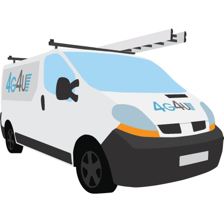 4G4U Sample Van Image